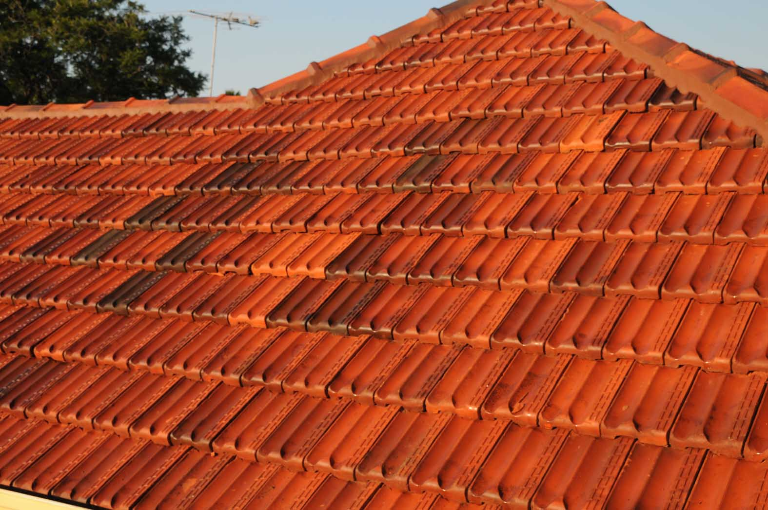 Terracotta re-roof